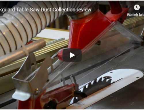 SharkGuard Review For Table Saw Dust Collection